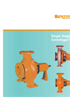 Single Stage Norm Centrifugal Pump - Brochure