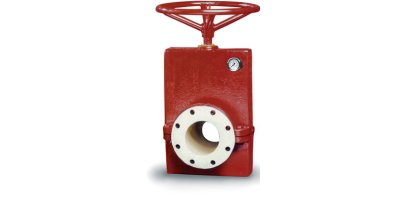 Red Valve - Model Series 75 - Manual Pinch Valve