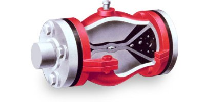Red Valve - Model Type A - Pinch Valve