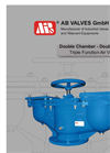 Double Chamber, Double Onfice Air Valve Brochure