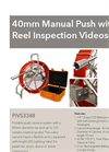 Model 40mm - Manual Push With Reel Inspection Videoscope System - Datasheet