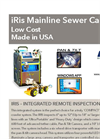 USA Borescopes - Model IRis - Mainline Sewer Camera - Brochure