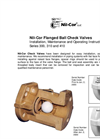 Ball Check Valves Brochure