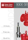 Model 9300 Series - Snap Pilot Acting Safety Valve Brochure