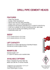 Drill Pipe Cement Heads - Brochure