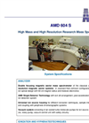 AMD 604 S High Mass and High Resolution Research Mass Spectrometer Brochure