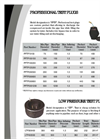 Plugco - Model PPTP Series - Professional Pipe Test Plugs - Brochure