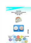ChemWipe Mercury & Mercury II Compounds Wipe for Surfaces Manual