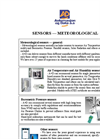 Meteorological Sensors Brochure