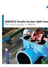 Andritz Double Suction Split Case Pump - Brochure