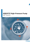 ANDRITZ High-Pressure Pump MP Series - Brochure