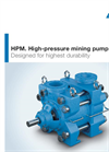 ANDRITZ - Model HPM series - High-pressure Mining Pumps - Brochure