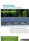 Panda Bear - Model Ballasted - Ground Mount Racking System  Brochure