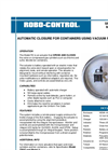 Model RC-TVR - Actuator Utomatic Closure For Containers Using Vacuum Regulators Datasheet
