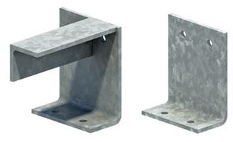 Eaves - Beam Cleat & Stiffening Bracket