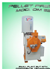 Model OM 22 - Pellet Press Machine  Brochure