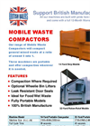 Portable Waste Compactors - Brochure