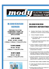 Mody - Model M-500 Series - Portable Electric Submersible Pump Brochure
