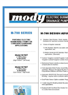 Mody - M-700 Series - Portable Electric Submersible Pump Brochure