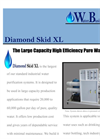 Diamond Skid - Model XL - Industrial Reverse Osmosis Drinking Water Purification System Brochure