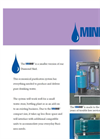Mini Skid - Reverse Osmosis Water Purification System Brochure