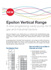 Epsilon Vertical Pump - Flyer Brochure (PDF 135 KB)
