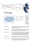 Small Pumps - M Range Flyer Brochure (PDF 289 KB)