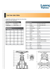 Model LV 5105 - Cast Iron Gate Valve - PN10/16 Datasheet