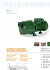 Model MJ - Self-Priming Centrifugal Multistage Electric Pumps Brochure