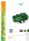 Model MC - Multistage Centrifugal Electric Pumps Brochure