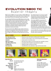 Evolution 5800 TIC - Superior Imagery Datasheet