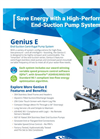 Genius - Model E - Variable Speed Pumps Brochure