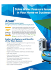 Atom - Variable Speed Pump Brochure