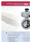 Model DKZ 103 GS - Flame Proofed Butterfly Valve- Brochure