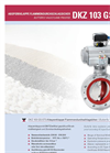 Model DKZ 103 GS-ST3 - Flame Proofed Butterfly Valve- Brochure