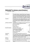 PERASAN - A (Antimicrobial Solution) Datasheet