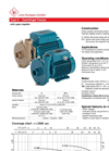 Model C - Centrifugal Pumps Brochure