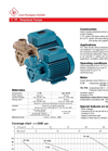 Model T, TP - Peripheral Pumps Brochure