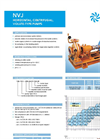Model NVJ - Horizontal Centrifugal Volute Pumps Brochure