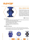 Flowtef - Model VCF - Ball Check Valves - Datasheet