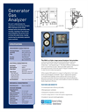 E-One - Generator Gas Analyzer (GGA) Brochure