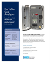 Environment One - Portable Hydrogen Gas Analyzer (PGA) Brochure