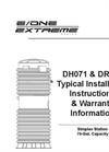 DH071 & DR071 - Typical Installation Instructions Manual