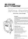 E/One - Sentry Alarm Panel - Basic Package Datasheet
