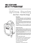 E/One - Sentry Alarm Panel - Protect Plus Package Datasheet