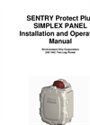 Sentry Protect Plus Simplex Panel Installation and Operation Manual