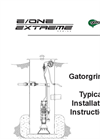 Gatorgrinder - Typical Installation Instructions Manual