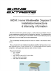 IH091 - Home Wastewater Disposal System User Manual