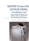 Sentry Protect Plus Duplex Panel Installation and Operation Manual