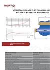 KVS Water Meter - Technical Specifications